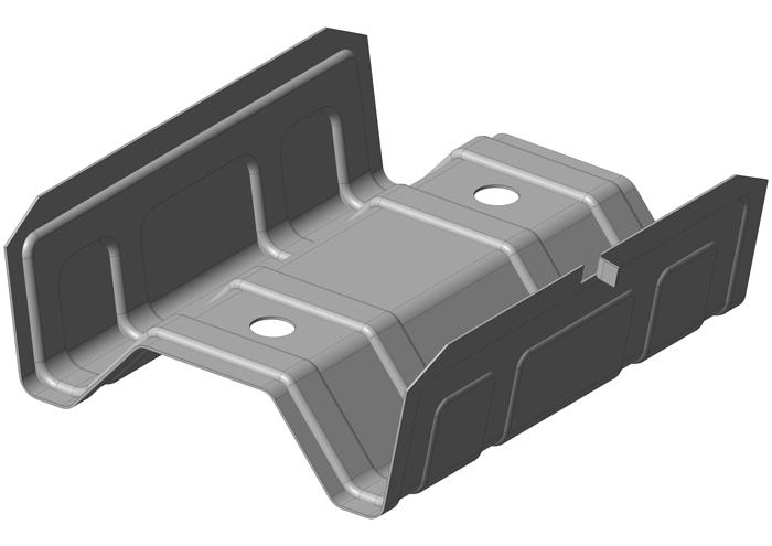 LV-2/60 Längsverbinder für CD 60/27