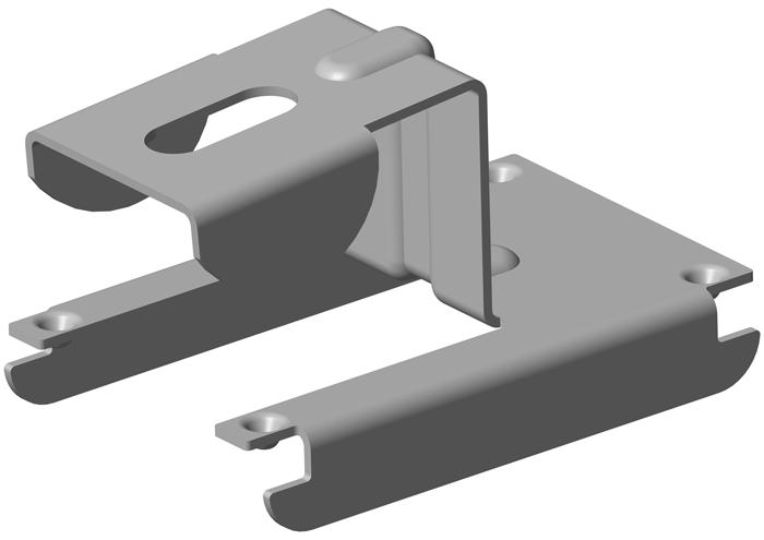 SC-1 Stützenclip für CD 60/27