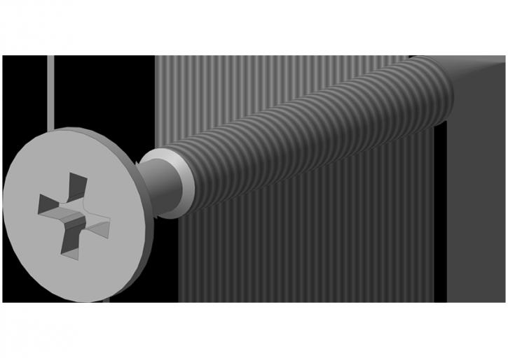 Schnellbau-Schraube Feingew. 3,9 x 25 mm